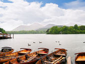 The Lake District in England Europe — 图库照片