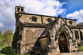Church at Linton near Grassington in North Yorkshire England is an area of outstanding natural Beauty — Stock Photo