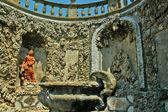 Italian Garden at Settignano in Tuscany Italy — Stock Photo