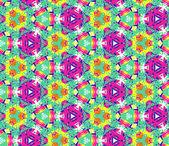 бесшовный узор, состоящий из абстрактных элементов яркий цвет — Cтоковый вектор