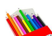 Many pastels — Stock fotografie