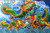 Chinesischer drache statue — Stockfoto