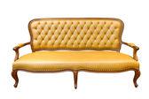 Brown luxury sofa — Stock Photo
