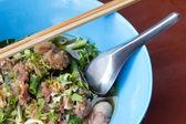 Noodles soup — Stock Photo