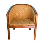 Modern wooden armchair — Foto Stock