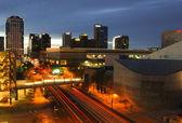 Phoenix, AZ skyline — Stock Photo