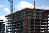 Office building under construction — Stock Photo