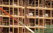 Building construction site — Stock Photo