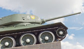 Soviet tank T-34 in Minsk — Stock Photo