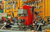 Key cutting workplace — Photo