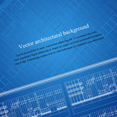 Architecture background blueprint — Stock Vector