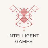 Intelligent games — Stock Vector