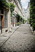 Street with cobbles — Stock Photo