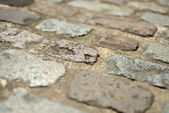 Cobbles background — Stock Photo