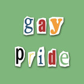 Gay pride — Foto Stock