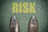 Road concept - risk — Stockfoto