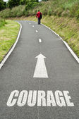 Courage — Stock Photo