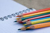 Pencils color — Stock Photo