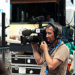 MULHOUSE - FRANCE - 13 th July 2014 - tour de France - cameraman — Stock Photo #49638761