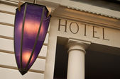 Hotel facade — Stock Photo