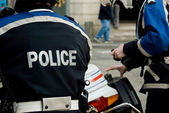 French policeman — Stock Photo