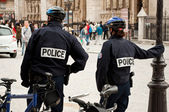 French policeman — Foto Stock