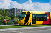 Mulhouse - france - 24 th July 2014 - tramway in Mulhouse - Alsace France — Stock Photo