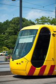 Mulhouse - france - 24 th July 2014 - tramway in Mulhouse - Alsace France — Foto Stock