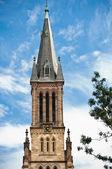 Saint-Barthelemy church in Mulhouse — Stock Photo