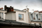 Roofs of Paris — 图库照片
