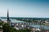 Saumur panoramic — Stock Photo
