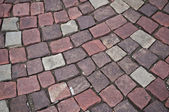 Cobbles texture — Stock Photo