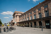 Mulhouse - France - 31 th July 2014 - train station — Stock Photo
