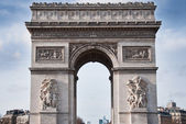 Arch of triumph in Paris — Stock Photo