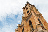 Church in Colmar - Alsace - France — Zdjęcie stockowe