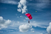 Parachutism — Stock Photo