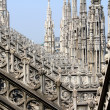 Cathedral of Milan, Duomo di Milano, Italy — Stock Photo