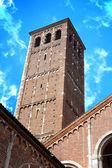 Saint Ambrose Cathedral, Milan, Italy — Stock Photo