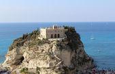 Church on Rock, Tropea, South Italy — Stock Photo