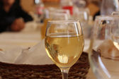 Wine in Glass — Stock Photo