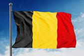 Belgium flag — Stock Photo