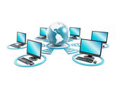 Wereldwijd netwerk — Stockfoto