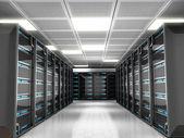 Nätverksservrar — Stockfoto