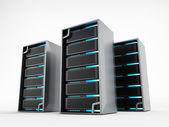 Network servers — Stock Photo