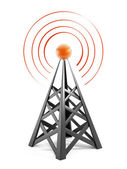 Torre de comunicaciones — Foto de Stock