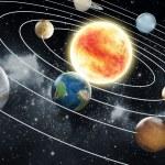 ������, ������: Solar system illustration