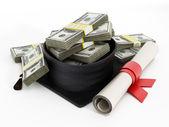 Custos da educação — Foto Stock