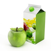 Sok jabłkowy — Zdjęcie stockowe