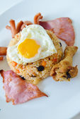 Thai food, American fried rice — Stock Photo