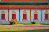 Architecture of northern thailand in temple buddhism — Stok fotoğraf